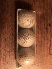 Vintage Tony Lema Golf Balls Sleeve 1960's Mint