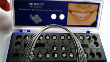2 Packs Dental Orthodontic Ceramic Brackets Roth 022 345Hooks (Wire is gift)