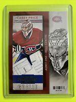 2013-14 Panini Contenders #63 Carey Price Montreal Canadiens
