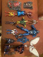 Assorted Toy Biz Marvel Legends Figures/BAF and sets All Loose And Pre-owned