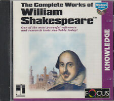 William Shakespeare Complete Works Of CD Rom Reference Research Tools FASTPOST