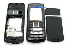 Black reaplcement parts full Housing body cover case keypad for Nokia 3110 3110C