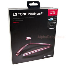 LG Tone Platinum HBS-930 Wireless Bluetooth In Ear Headsets Rose Gold