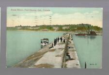 pk35670:Postcard-Break Water,Port Stanley,Ontario