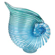 Giftware 15826 Aqua Blue Decorative Shell by Straits Trading Company £24.99