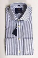 Striped Men's 40 in. Chest Formal Shirts