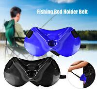 AU_ Boat Sea Fishing Waist Belt Prop Belly Top Fishing Rod Holder Fishing Suppli