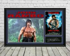Sylvester Stallone Rambo Signed Photo Print Autographed Poster Memorabilia