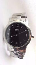 Designer MENS HUGO BOSS 1610 Swiss Made Date Gents Watch. No Reserve