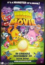 MOSHI MONSTERS THE MOVIE CINEMA 1 SHEET POSTER  POPPET KATSUMA 2013