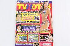 Tv Notas Mexican Magazine September 2014 Luz Elena Sexy Adal Ramones