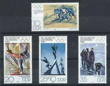 Allemagne Orientale N°2141/44** (MNH) 1980 - J.O de Lake Placid