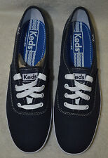 Keds Women's Champion Navy Canvas Shoes Fashion SNEAKERS Wf34200 Sz 7