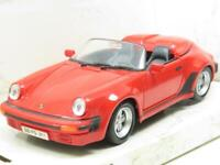 Maisto Diecast 31902 Porsche 911 Speedster 1989 Red 1 24 Scale Boxed