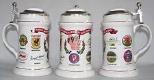 Joseph Huber Brewing Co., Monroe, Wis., 1991 Small Breweries beer stein