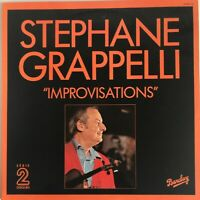 STEPHANE GRAPPELLI IMPROVISATIONS 1955-57 2-LP SET BARCLAY FRENCH PRESS NR MINT