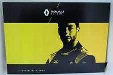 New listing 2020 Daniel Ricciardo F1 Card Formula 1 Renault Driver Autograph Postcard