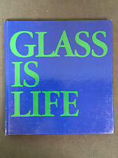 Per Lutken - Glass is Life ISBN 8717054745 Holmegaard RARE volume 1st Edition
