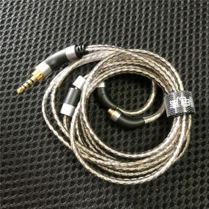 2.5mm 3.5mm 4.4mm balanced cable OFC silver plated update audio cable MMCX plug