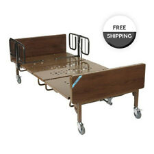 """Drive Full Electric Bariatric Hospital Bed Package With Mattress, T-Rails, 42"""""""