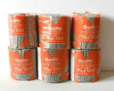 Yarn - Bucilla 100% Acrylic Pre-Cut Rug Yarn - #328 Gray Color - Lot Of 6 New