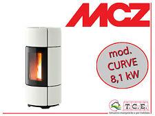 Stufa a pellet MCZ mod. CURVE Air - pellet stove - potenza 8,1 kW