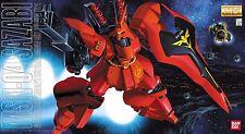 BANDAI MG 1/100 MSN-04 SAZABI Plastic Model Kit Gundam Char's Counter Attack NEW