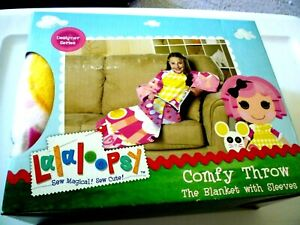 New Girl;s comfy Throw the blanket with sleeves Lalalo Opsu 48X48