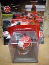 Casco Helmet Michael Schumacher 2002 1/5 con Fascicolo
