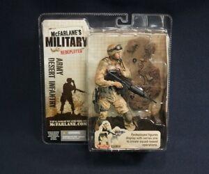 McFarlane Military Redeployed Series one Army Desert Infantry