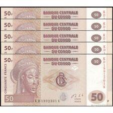 TWN - CONGO DEM. REP. 97A - 50 Francs 30/6/2013 UNC KD-K (HdM) DEALERS x 5