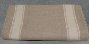 """Threshold 108"""" x 14"""" Extended Lenth Table Runner - Stripe Gray"""