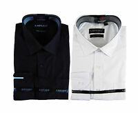 White, Black Long Sleeve Office Work Business Mens Shirt XS S M L XL XXL XXXL