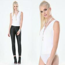 BEBE WHITE LACE UP BODYSUIT TOP NEW NWT XSMALL XS