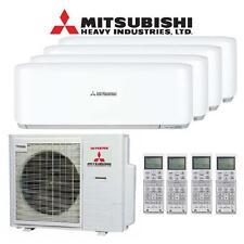 Quadsplit-Klimaanlage Mitsubishi SCM80ZM + SRK20ZS + 2x 25ZS + 35ZS 8kW Inverter