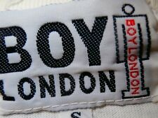 BOY LONDON Womens Fitted T-Shirt RARE italia Couture S for SUPREME QUALITY UK