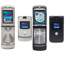 Motorola Razr V3 - Black/Silver (T-Mobile) Gsm Flip Phone