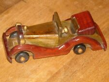 Wooden Model Car Kit / Scratch Built poss. Vintage Rolls Royce Phantom Bentley