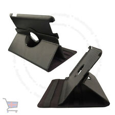 New Smart Rotating Black Colour Leather Case Cover Stand Holder for Ipad UKES