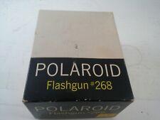 Polaroid 268 Flash gun for land bellows packfilm cameras,100 240 250 350