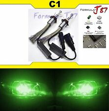LED Kit C1 60W H10 9145 Green Fog Light Two Bulb UPGRADE REPLACEMENT JDM Lamp