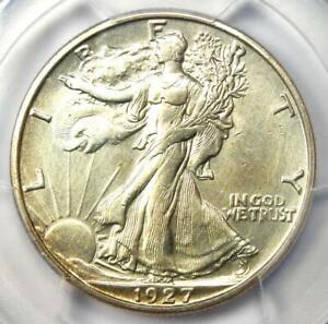 1927-S Walking Liberty Half Dollar 50C - PCGS AU Details - Rare Date Coin!