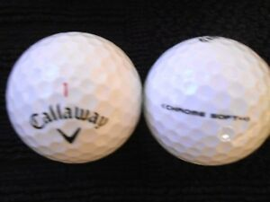 "20 CALLAWAY - ""CHROME SOFT"" - Golf Balls - ""A"" Grade."