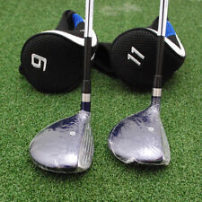 Bullet Golf .444 - 9 & 11 High Launch Fairway Woods 2pc SET Mens Flex NEW