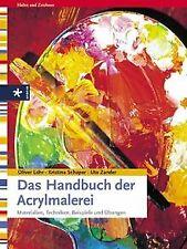 Das Handbuch der Acrylmalerei. Materialien, Technik... | Buch | Zustand sehr gut
