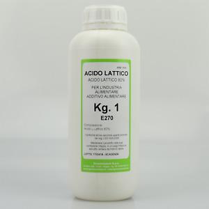 ACIDO LATTICO 80% E270 - KG.01