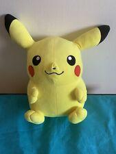 """Toy Factory 14"""" Pokemon Pikachu Stuffed Plush Animal  Used"""