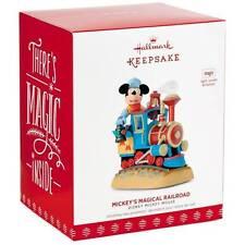 Mickey's Magical Railroad 2017 Hallmark Disney Magic Ornament Train  In Stock