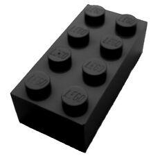 Lego 50 schwarze Steine 2x4 Basicsteine (3001) Stein Neu Bausteine in schwarz