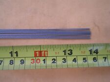 """25 STAINLESS STEEL STRAIGHT LURE SHAFT WIRE FORM 0.039 X 24/"""" INCHES LONG"""